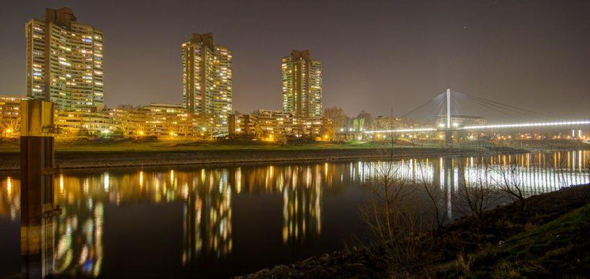 Nachts in Mannheim – Innenstadt