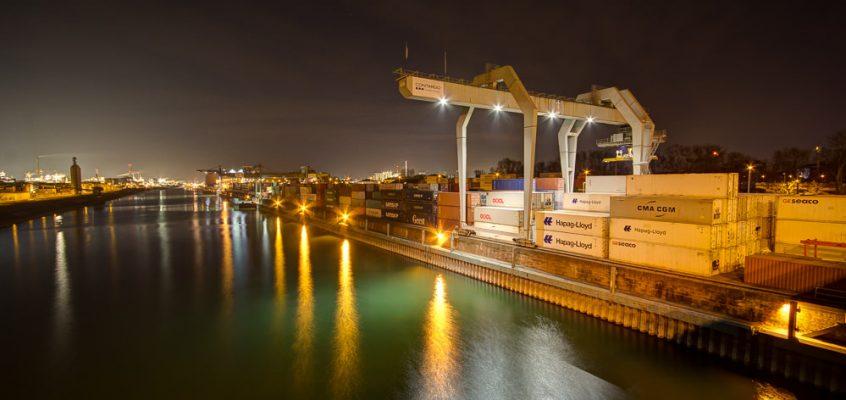 Containerhafen Mannheim