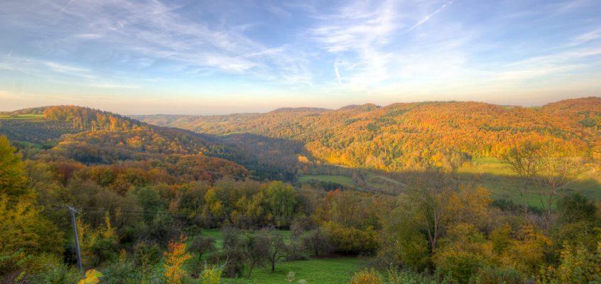 Herbst im Brettachtal