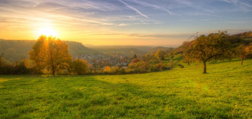 Ein Herbstabend in Oberheimbach