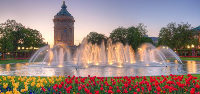 Friedrichsplatz Mannheim – Wasserturm